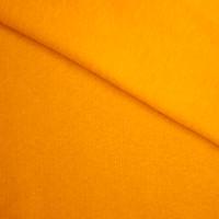 Bright Mango Midweight Sweatshirt Fleece Fabric By The Yard - Wide shot