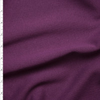 Plum Midweight Sweatshirt Fleece Fabric By The Yard