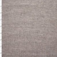 Grey Stretch Rayon Midweight Chambray Fabric By The Yard - Wide shot