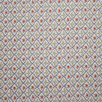 'Vintage' Floral London Calling Cotton Lawn by Robert Kaufman Fabric By The Yard - Wide shot