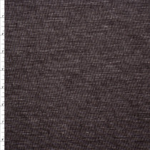 Brown Rustic Midweight Cotton/Linen Blend Fabric By The Yard