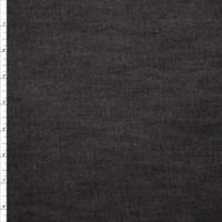 Black 10oz. Stretch Denim by Robert Kaufman Fabric By The Yard - Wide shot