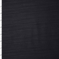 Black Cotton Boucle by Robert Kaufman Fabric By The Yard - Wide shot