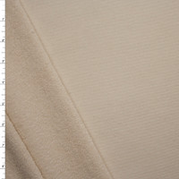 Ivory Heavyweight French Terry Fabric By The Yard