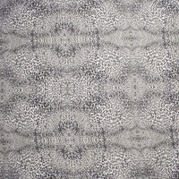 Black and White Cheetah Kaleidoscope Stretch Cotton Twill from '7 for All Mankind' Fabric By The Yard - Wide shot