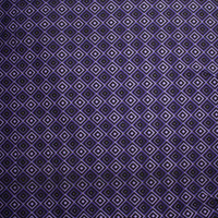 Purple, Black, and Lavender Diamond Print Stretch Twill from '7 for All Mankind' Fabric By The Yard - Wide shot