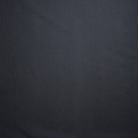 Black and Charcoal Horizontal Stripe Stretch Poplin from 'Hudson' Fabric By The Yard - Wide shot