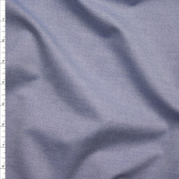 Light Blue Designer Oxford Cotton Fabric By The Yard