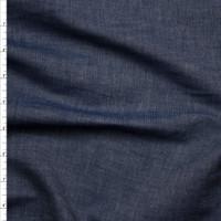 Crisp Lightweight Light Indigo Selvage Chambray Fabric By The Yard