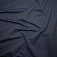Crisp Lightweight Light Indigo Selvage Chambray Fabric By The Yard - Wide shot