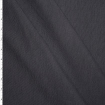 Charcoal Luxury Stretch Ponte De Roma Fabric By The Yard