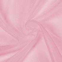 Candy Pink Sparkle Organza