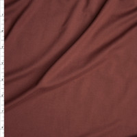 Cinnamon Double Brushed Poly Spandex Fabric By The Yard