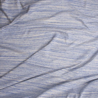 Blue and White Grunge Diamond Reversible Double Layered Knit from 'Sol Angeles' Fabric By The Yard - Wide shot