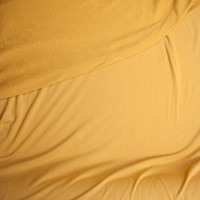 Light Mustard Soft Midweight Rayon French Terry Fabric By The Yard - Wide shot