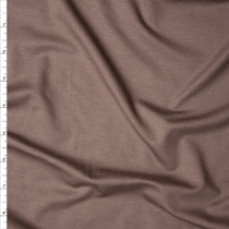 Light Brown Stretch Rayon Jersey Knit Fabric By The Yard