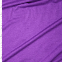 Grape Purple Stretch Rayon Jersey Knit Fabric By The Yard