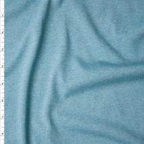 Sky Blue Heather Rayon Jersey Knit Fabric By The Yard