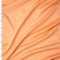 Light Orange Sherbert Stretch Rayon Jersey Knit Fabric By The Yard