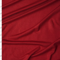 Brick Red Midweight Stretch Jersey Knit Fabric By The Yard