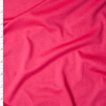 Hot Pink Designer Midweight Rayon Jersey Knit Fabric By The Yard