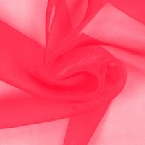 Neon Pink Sparkle Organza