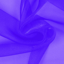 Purple Sparkle Organza