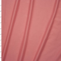 Bubblegum Pink Double Brushed Poly/Spandex Knit Fabric By The Yard