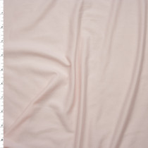 Blush Pink Double Brushed Poly/Spandex Knit Fabric By The Yard