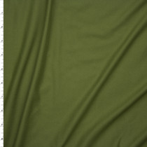 Deep Sage Green Double Brushed Poly/Spandex Knit Fabric By The Yard