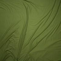 Deep Sage Green Double Brushed Poly/Spandex Knit Fabric By The Yard - Wide shot