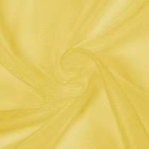 Yellow Sparkle Organza
