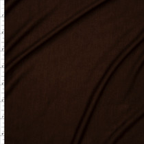 Brown Lightweight 4-way Stretch Rayon Lycra Jersey Knit Fabric By The Yard