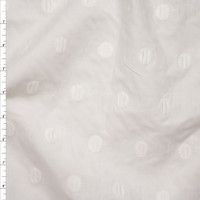 White 'Swiss Dot Embroidery 3' from Robert Kaufman Fabric By The Yard