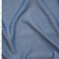 Indigo Rayon Chambray from Robert Kaufman Fabric By The Yard