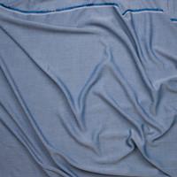 Indigo Rayon Chambray from Robert Kaufman Fabric By The Yard - Wide shot
