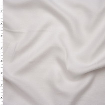 White 'Paris Rayon Crepe' by Robert Kaufman Fabric By The Yard