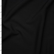 Black Crepe Textured Liverpool Knit Fabric By The Yard