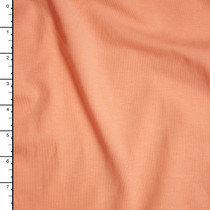 Peach Midweight Stretch Jersey Knit Fabric By The Yard