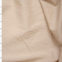 Light Tan Cotton Lawn Fabric By The Yard