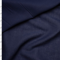 Navy Blue Cotton Lawn Fabric By The Yard