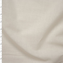 Ivory Cotton Lawn Fabric By The Yard