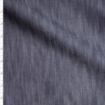 Dark Indigo Midweight Tencel Denim Fabric By The Yard