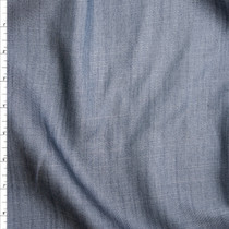 Slate Grey Lightweight Tencel Denim Fabric By The Yard
