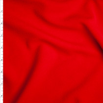 Bright Red Liverpool Knit Fabric By The Yard