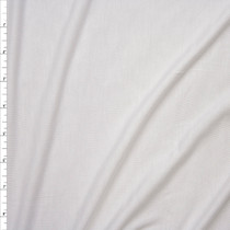 White Stretch Modal Jersey Knit Fabric By The Yard