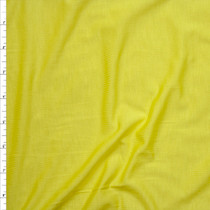 Yellow Stretch Modal Jersey Knit Fabric By The Yard