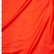 Red Orange Stretch Modal Jersey Knit Fabric By The Yard