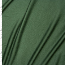 Olive Green Stretch Modal Jersey Knit Fabric By The Yard