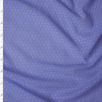 Periwinkle Floral Pattern Stretch Lace Fabric By The Yard